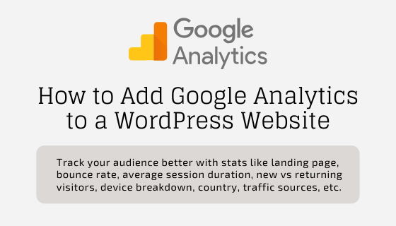 How to Install Google Analytics Tracking Code Into Your Website?