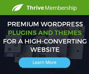 Thrive Themes Membership