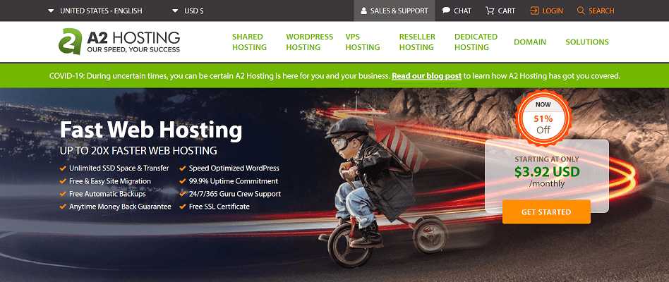 A2hosting Web Hosting Affiliate Program