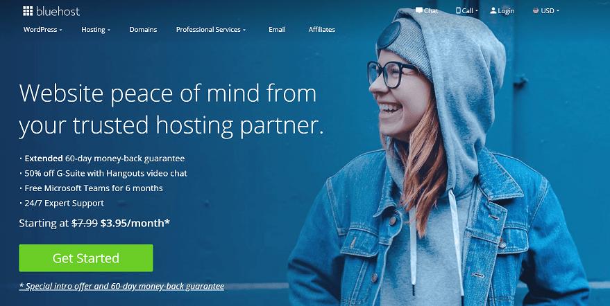 Bluehost Web Hosting Affiliate Program