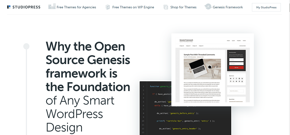 Genesis SEO WordPress Theme