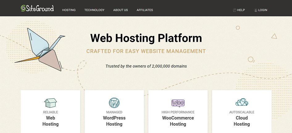 Siteground Web Hosting Affiliate Program