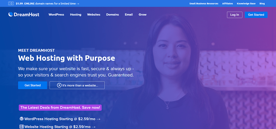 Dreamhost Web Hosting Affiliate Program