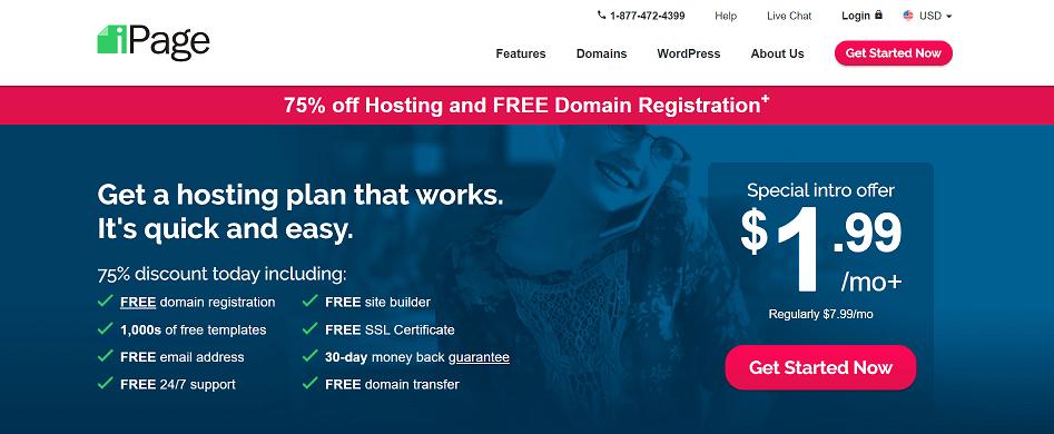 iPage Web Hosting Affiliate Program