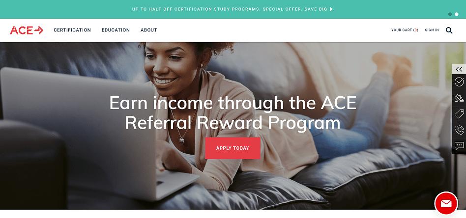 Acefitness affiliate program