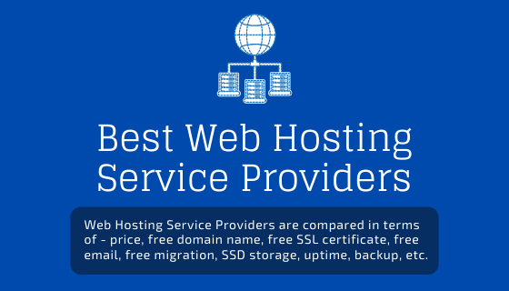 Best Web Hosting Service Providers
