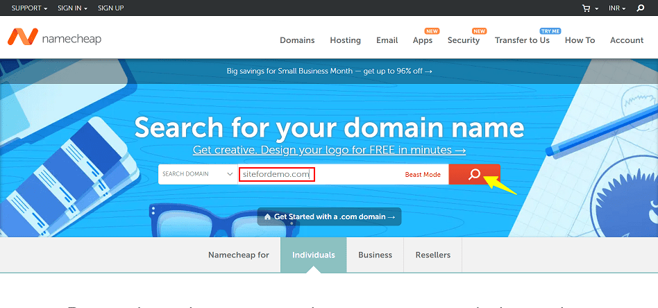 Buy Domain Name From Namecheap
