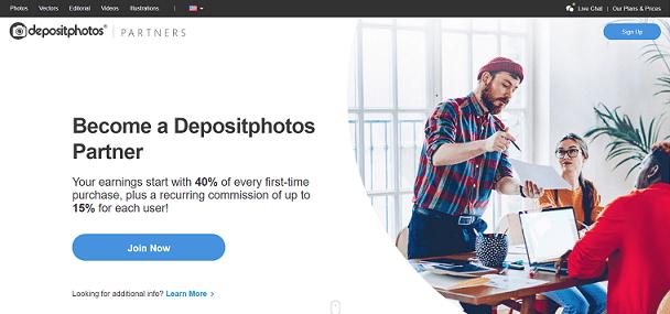 DepositPhotos Recurring Affiliate Program