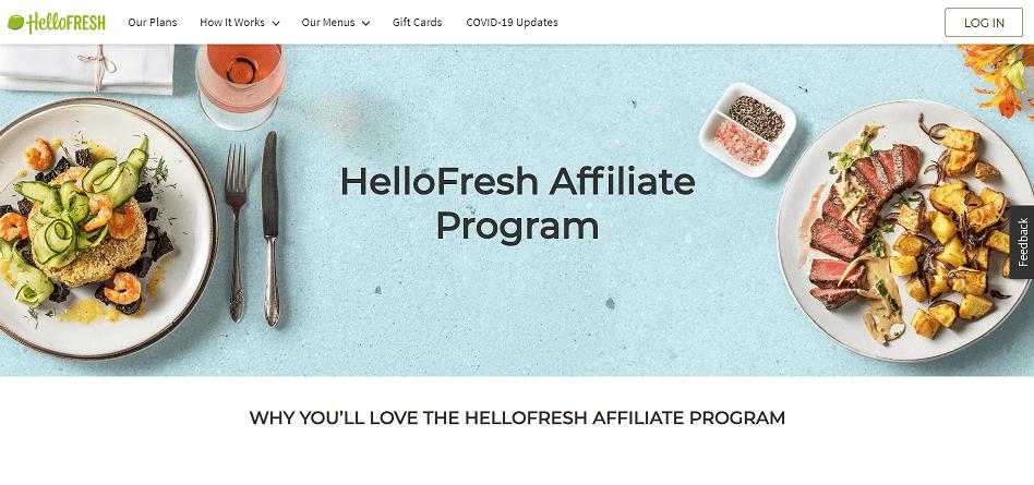 HelloFresh Affiliate Program