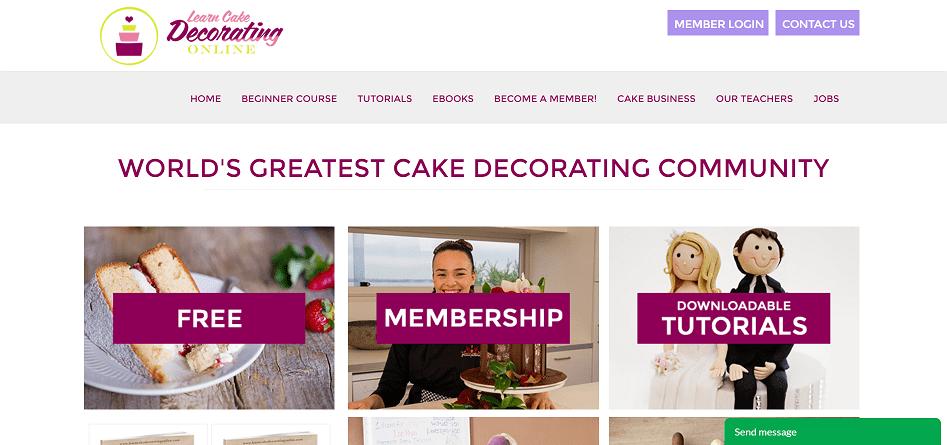 Learn Cake Decorating Online Affiliate Program