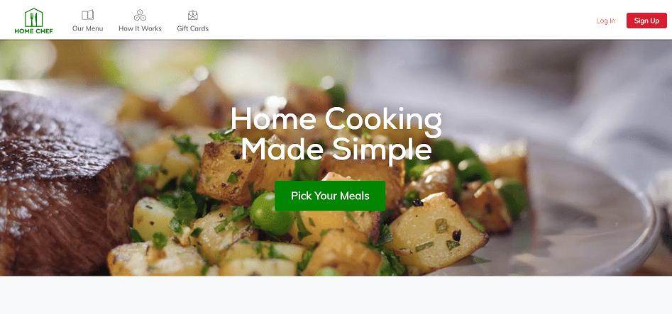 Home Chef Food Affiliate Program