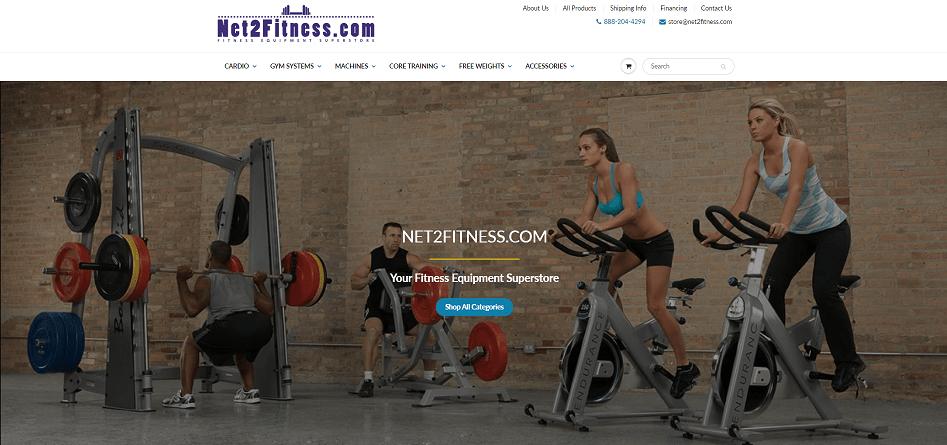 Net2Fitness Affiliate Program