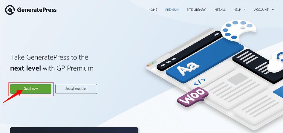 Premium GeneratePress
