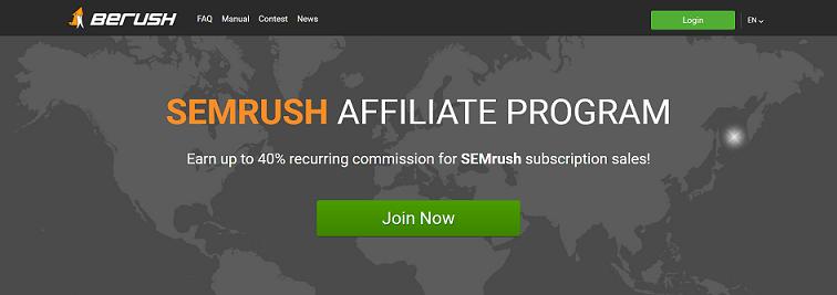 Semrush Recurring Affiliate Program