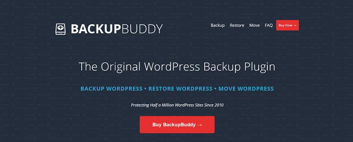 BackupBuddy WordPress Backup Plugin