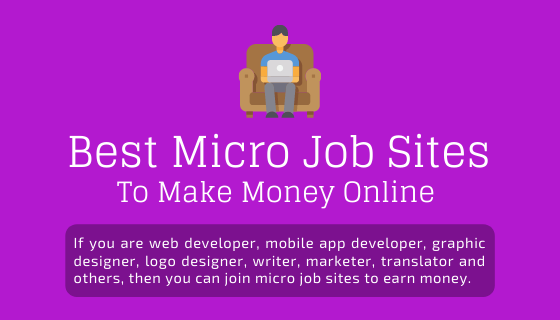 Best Micro Jobs Sites