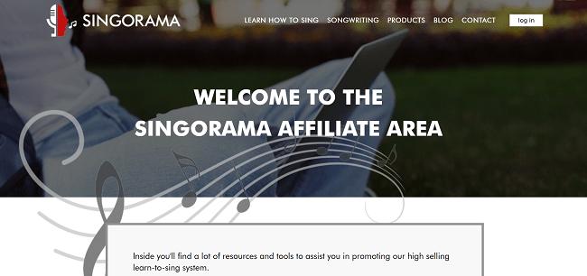 Singorama Music Affiliate Program