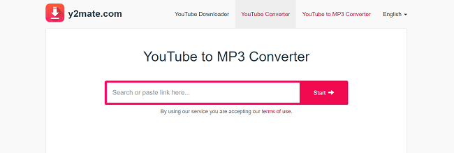 Y2Mate YouTube to MP3 Converter