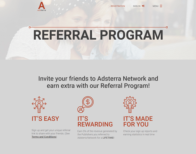 Adsterra Pay Per Click Affiliate Program