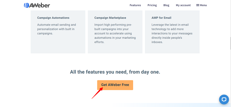 Aweber Free Email Marketing Service