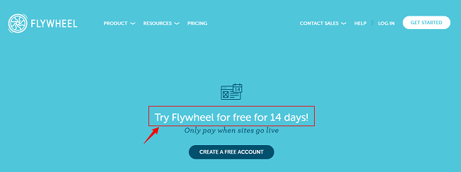 Flywheel Hosting 14 Days Free Trial