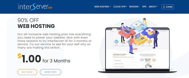 InterServer Web Hosting Free Trial