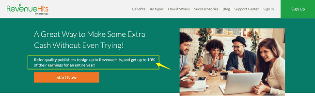 Revenuehits Pay Per Click Affiliate Program