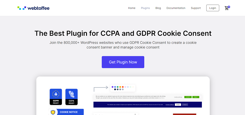 GDPR Cookie Consent Plugin