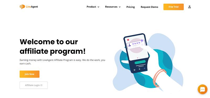 LiveAgent Affiliate Program