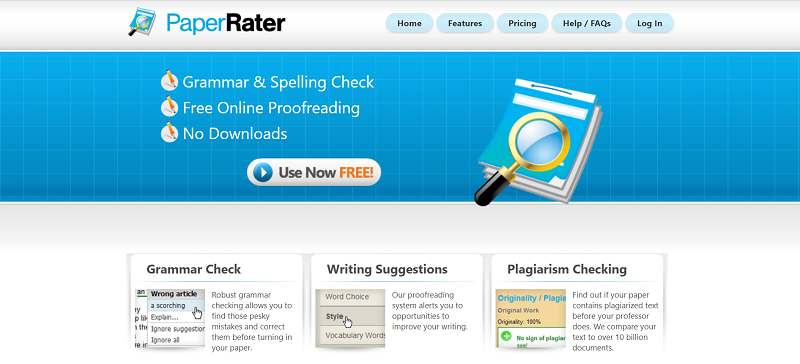 PaperRater Punctuation Checker
