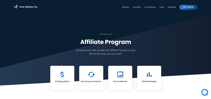 PostAffiliatePro Affiliate Program