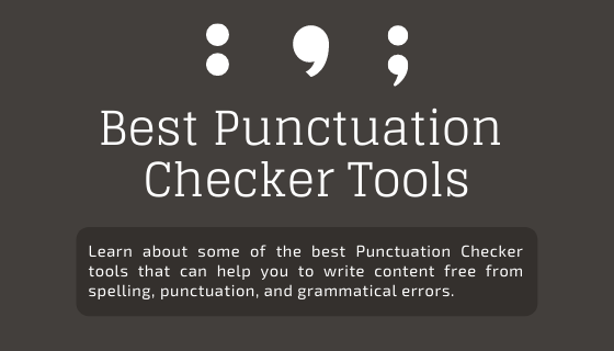 Punctuation Checker
