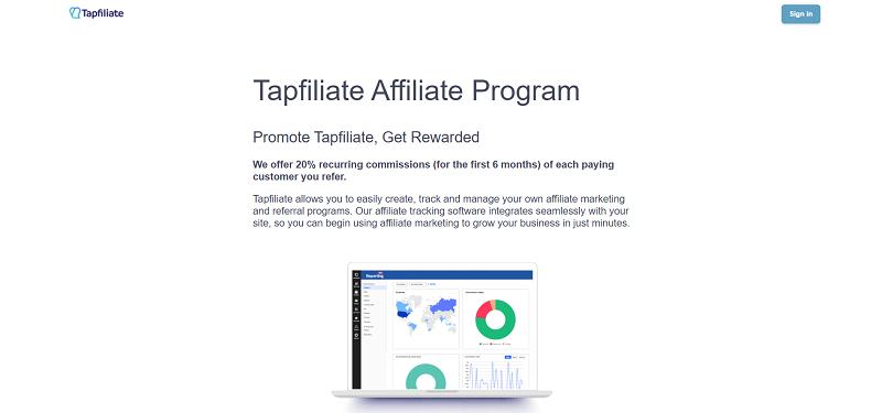 Tapfiliate Recurring Affiliate Program